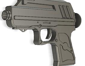 Captain rexs Dc 17 blaster 3D printable model