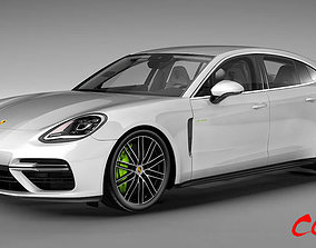 3D model Porsche Panamera 2018