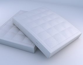 Realistic Mattress 3D Model soft