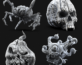 3D printable model Pumpkin Series for Halloween