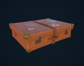 3D asset Luggage