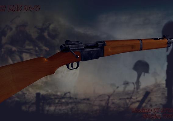 MAS-36 rifle