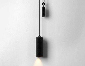 studio 3D model Porcelain Pendant Lamp
