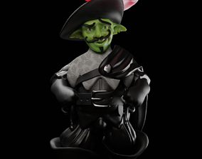 3D print model RIP Mantrapper Goblin Swashbuckler Rogue