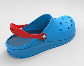 3D model Crocs Shoes