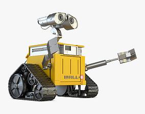 3D model animation Wall-e