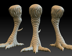 download 3D print model Chicken Leg