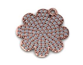 Flower Necklace 3D print model minimal