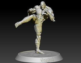 3D print model Street Fighter Sagat