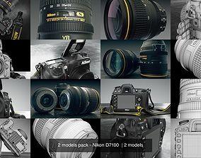 3D 2 models pack - Nikon D7100