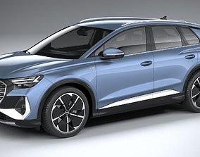 Audi Q4 e-tron s-line 2022 3D
