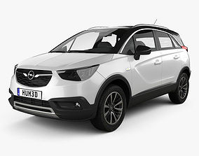 3D model Opel Crossland X Turbo 2017