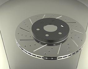 Brake disc 3D model brembo