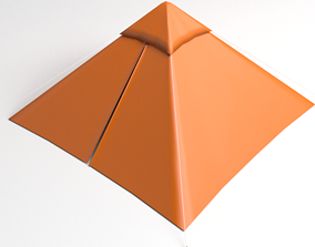 3D Pyramid Tent