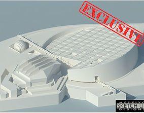 Bibliotheca Alexandrina 3D print model