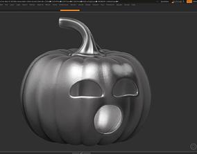 3D printable model halloween pumpkin 16