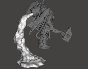 3x Assault Marine Smoke Stands - Single 3D print model 2