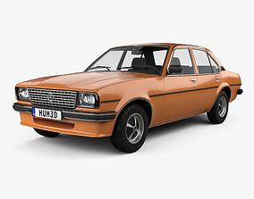 3D model Opel Ascona berlina 1975