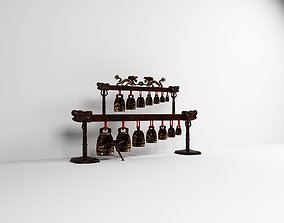 3D temple bell