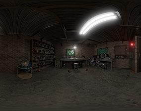Basement laboratory 3D