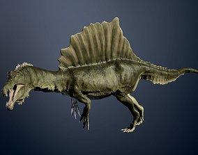 Spinosaurus 3D model animated