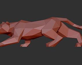 3D printable model leopard africa