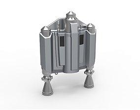 Jetpack from The Mandalorian TV series 3D printable model