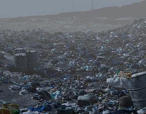 3D Digital Set Dressing Waste garbage rubbish litter