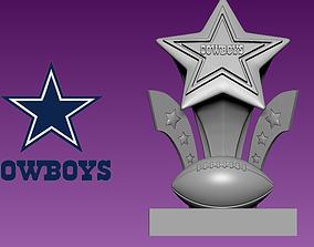 Dallas Cowboys statue - NFL - American 3D printable model