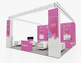 Exhibition stand 4 3D