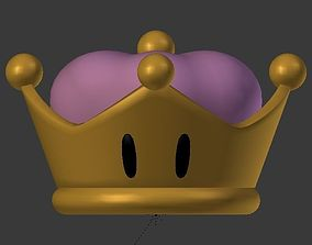 3D print model Bowsette crown
