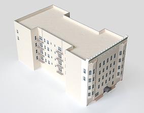 3D model San Francisco Page St Building 3