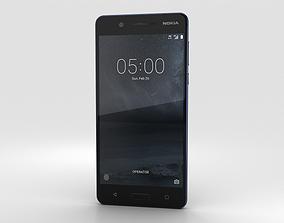 3D Nokia 5 Tempered Blue
