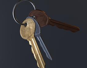Keys - Cycles and Eevee 3D model