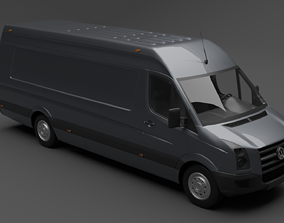 Volkswagen Crafter 3D model