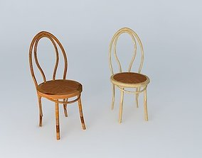 3D Clasic BENTWOOD Cafe Chairs