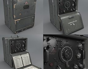 3D asset Military frequency Meter WW2