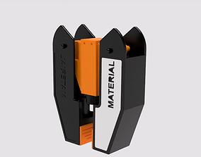 3D printable model Folding screwdriver I