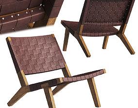 DE LA ESPADA 128 Lounge Chair 3D model