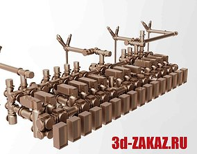 Industrial Electrical Conversion Equipment 3D print model