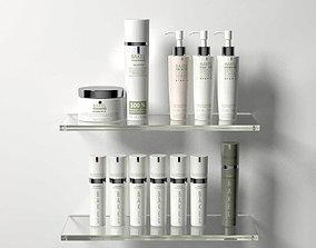 Skin Care Collection 3D
