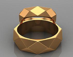 3D print model Wedding rings 03