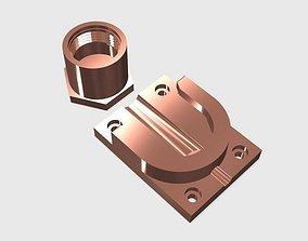 SCUBA - DIN Regulator Dust Cap And DIN 3D print model 2