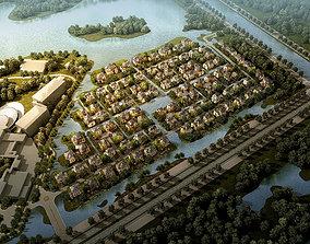 3D model Residential Building 005