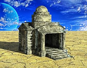 Mausoleum 3D asset