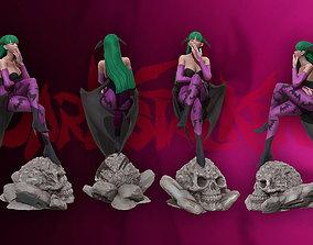 Morrigan Aensland 3d print figure statue - darsktalkers