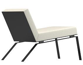 Ralph Pucci Steel Chair Robert Bristow 3D model