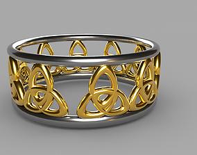 3D asset game-ready Golden Ring