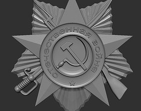 3D print model Medal order WW2 USSR