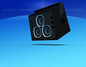 3D model Tannoy Dreadnought Speakers